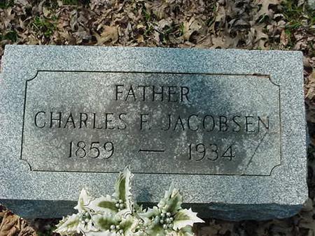 JACOBSEN, CHARLES F - Scott County, Iowa   CHARLES F JACOBSEN