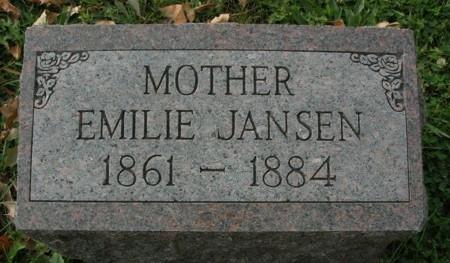 JANSEN, EMILIE - Scott County, Iowa | EMILIE JANSEN