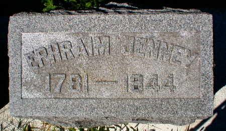JENNEY, EPHRAIM - Scott County, Iowa   EPHRAIM JENNEY