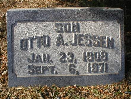JESSEN, OTTO A. - Scott County, Iowa | OTTO A. JESSEN