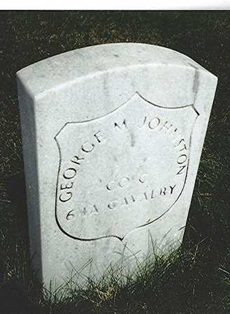 JOHNSTON, GEORGE M. - Scott County, Iowa | GEORGE M. JOHNSTON