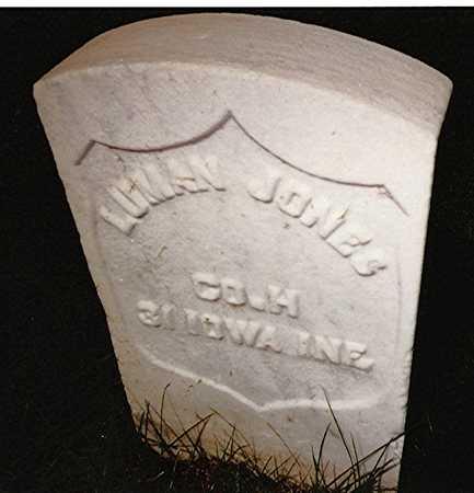JONES, LUMAN - Scott County, Iowa | LUMAN JONES