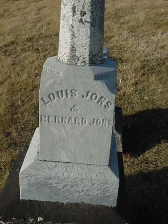 JONS, LOUIS - Scott County, Iowa | LOUIS JONS