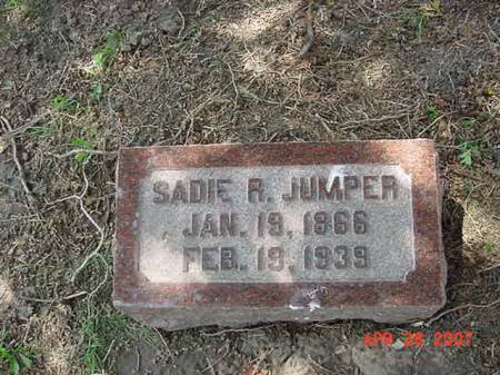 JUMPER, SADIE R - Scott County, Iowa | SADIE R JUMPER
