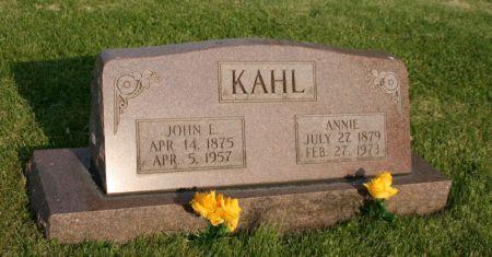 KAHL, JOHN E. - Scott County, Iowa | JOHN E. KAHL