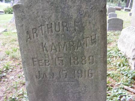 KAMRATH, ARTHUR - Scott County, Iowa | ARTHUR KAMRATH