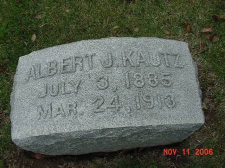 KAUTZ, ALBERT J - Scott County, Iowa | ALBERT J KAUTZ