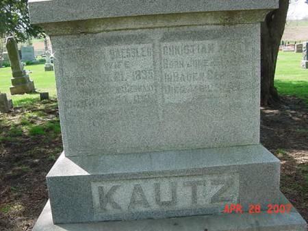KAUTZ, CHRISTINA - Scott County, Iowa | CHRISTINA KAUTZ