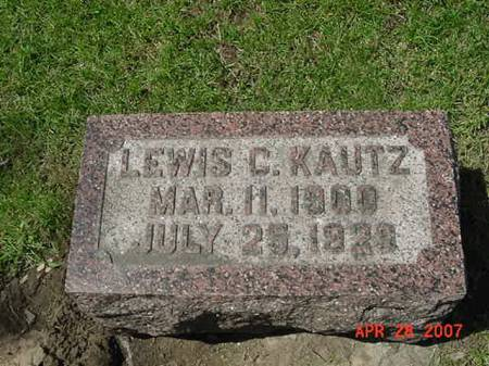 KAUTZ, LEWIS C - Scott County, Iowa   LEWIS C KAUTZ