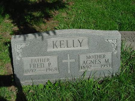 KELLY, FRED P - Scott County, Iowa | FRED P KELLY
