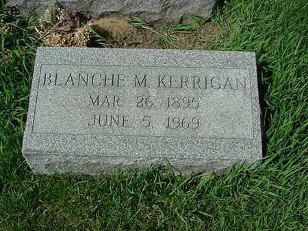 KERRIGAN, BLANCHE M - Scott County, Iowa   BLANCHE M KERRIGAN