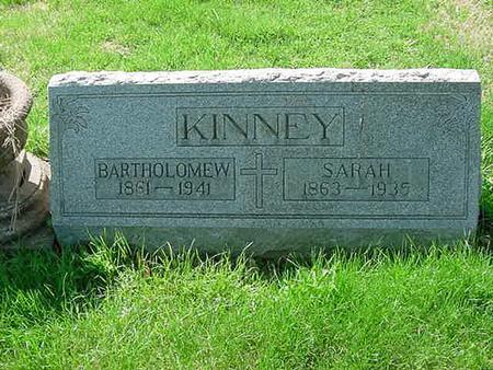 KINNEY, BARTHOLOMEW - Scott County, Iowa | BARTHOLOMEW KINNEY