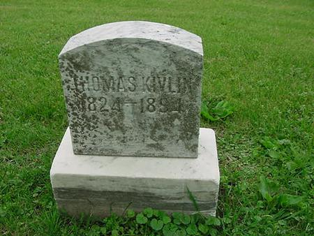 KIVLIN, THOMAS - Scott County, Iowa | THOMAS KIVLIN