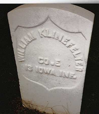 KLINEFELTER, WILLIAM - Scott County, Iowa | WILLIAM KLINEFELTER