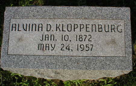 KLOPPENBURG, ALVINA D. - Scott County, Iowa | ALVINA D. KLOPPENBURG