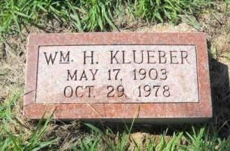 KLUEBER, WM.  H. - Scott County, Iowa | WM.  H. KLUEBER