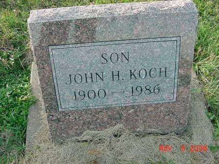 KOCH, JOHN H - Scott County, Iowa | JOHN H KOCH