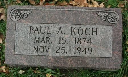KOCH, PAUL A. - Scott County, Iowa   PAUL A. KOCH