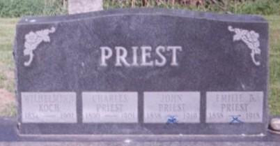 BRECKHAN PRIEST, EMILIE - Scott County, Iowa | EMILIE BRECKHAN PRIEST