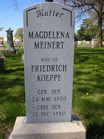 KOEPPE, MAGDELENA - Scott County, Iowa | MAGDELENA KOEPPE