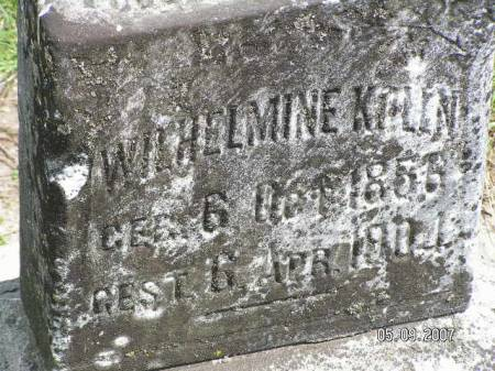 KOLLN, WILHELMINE - Scott County, Iowa | WILHELMINE KOLLN