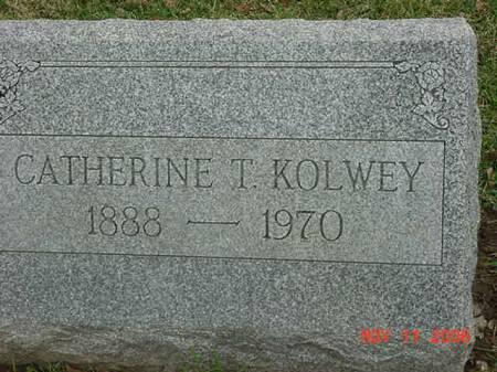 KOLWEY, CATHERINE T - Scott County, Iowa | CATHERINE T KOLWEY