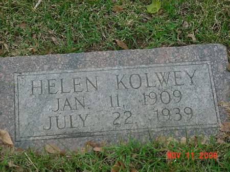 KOLWEY, HELEN - Scott County, Iowa   HELEN KOLWEY