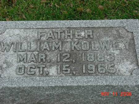 KOLWEY, WILLIAM - Scott County, Iowa   WILLIAM KOLWEY
