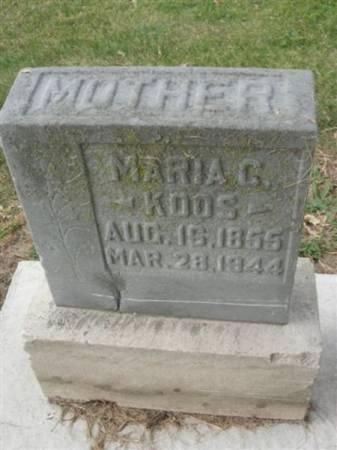 KOOS, MARIA C. - Scott County, Iowa | MARIA C. KOOS