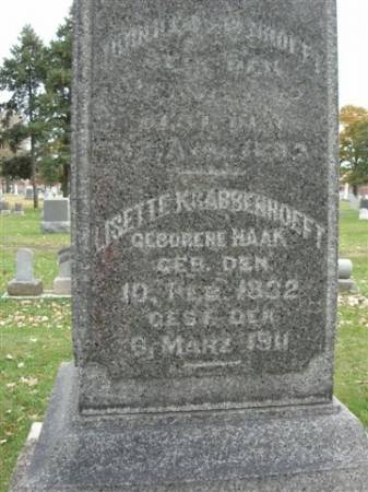 HAAK KRABBENHOEFT, LISETTE - Scott County, Iowa | LISETTE HAAK KRABBENHOEFT