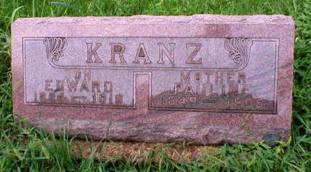KRANZ, PAULINE - Scott County, Iowa | PAULINE KRANZ