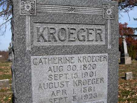 KROEGER, CATHERINE - Scott County, Iowa | CATHERINE KROEGER
