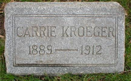 KROEGER, CARRIE L. - Scott County, Iowa | CARRIE L. KROEGER