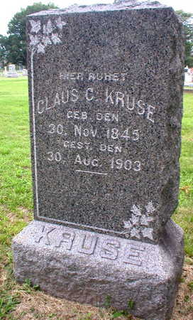 KRUSE, CLAUS C. - Scott County, Iowa | CLAUS C. KRUSE