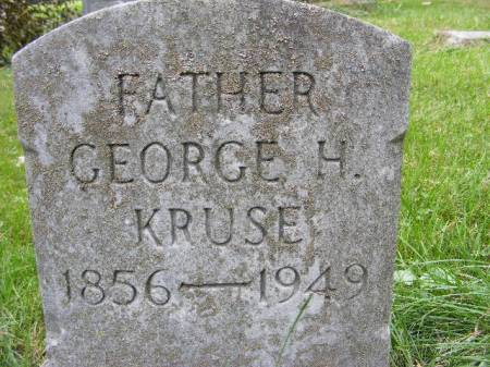 KRUSE, GEORGE H. - Scott County, Iowa | GEORGE H. KRUSE