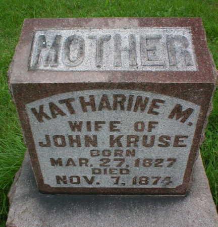 KRUSE, KATHERINE M. - Scott County, Iowa | KATHERINE M. KRUSE