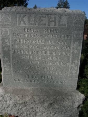 KUEHL, HENRY - Scott County, Iowa | HENRY KUEHL
