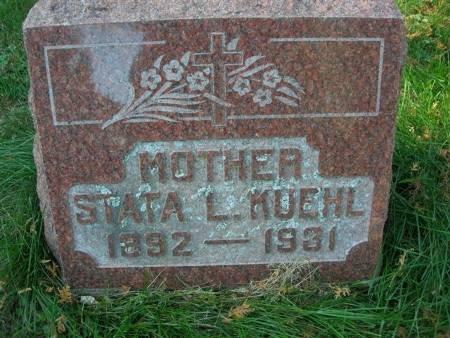 KUEHL, STATA L. - Scott County, Iowa | STATA L. KUEHL