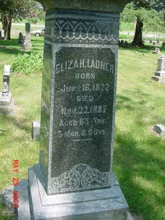 LADNER, ELIZAH - Scott County, Iowa | ELIZAH LADNER