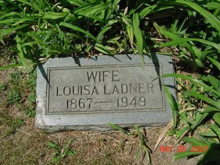 LADNER, LOUISA - Scott County, Iowa | LOUISA LADNER