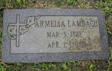 LAMBACH, ARMELIA - Scott County, Iowa | ARMELIA LAMBACH