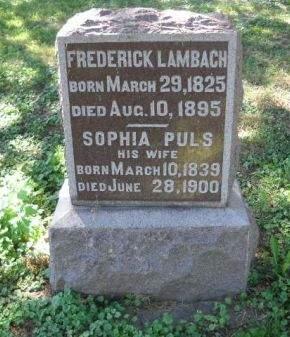 LAMBACH, SOPHIA - Scott County, Iowa | SOPHIA LAMBACH