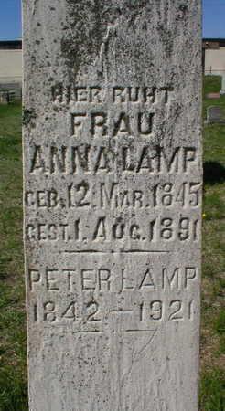 LAMP, ANNA - Scott County, Iowa | ANNA LAMP