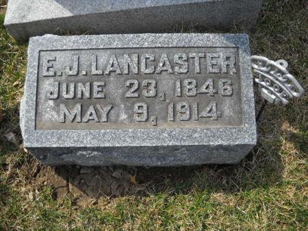 LANCASTER, E. J. - Scott County, Iowa | E. J. LANCASTER