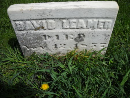 LEAMER, DAVID - Scott County, Iowa   DAVID LEAMER