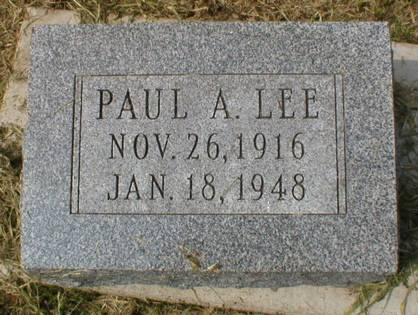 LEE, PAUL A. - Scott County, Iowa | PAUL A. LEE