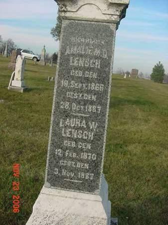 LENSCH, AMALIE M.D. - Scott County, Iowa | AMALIE M.D. LENSCH