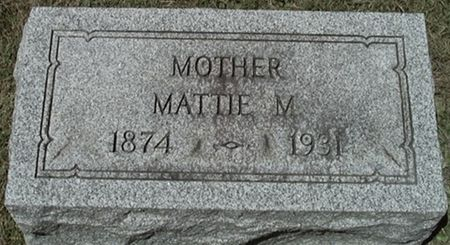 MISFELDT LENSCH, MATTIE - Scott County, Iowa   MATTIE MISFELDT LENSCH