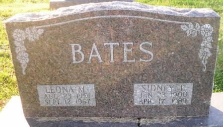 BATES, SIDNEY T. - Scott County, Iowa | SIDNEY T. BATES