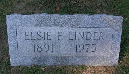 LINDER, ELSIE - Scott County, Iowa | ELSIE LINDER